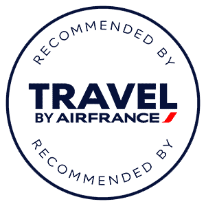 Recommended by Air France